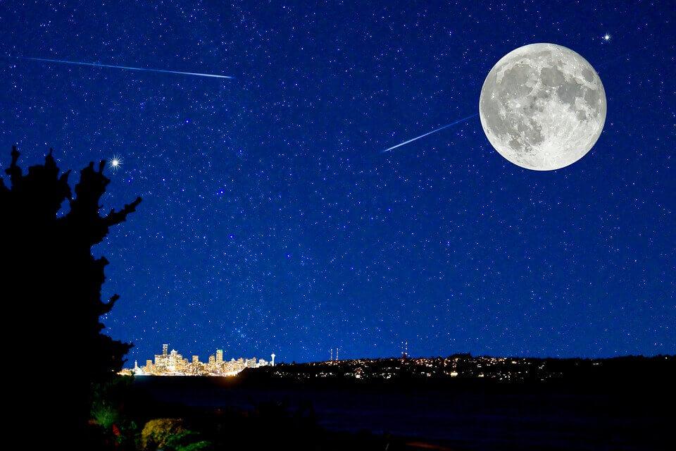 流れ星に3回願い事をするとなぜ叶う?子供に伝える起源や由来!